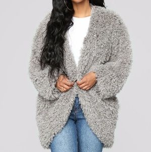 Jackets & Blazers - 🆕 Shaggy Faux Fur Jacket